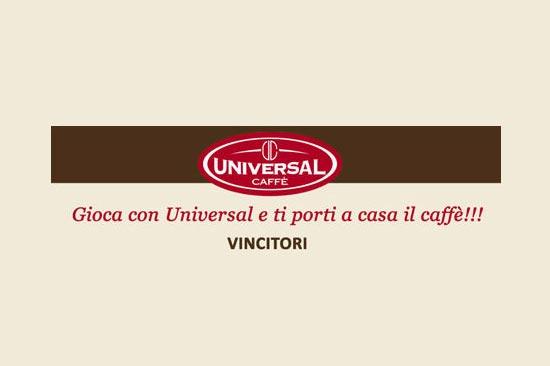 Gioca con Universal e ti porti a casa il caffè! Concluso primo concorso su Facebook, annunciati i vincitori