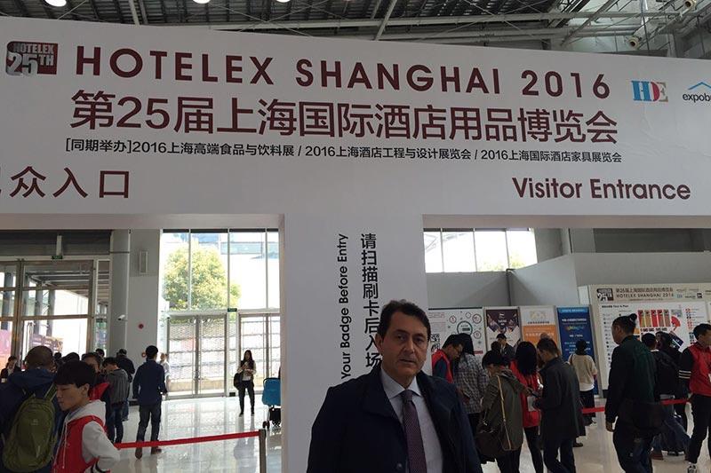 Il caffe' abruzzese conquista la Cina, Universal ad Hotelex
