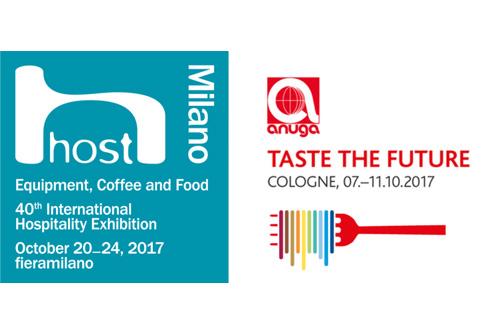 Anuga e Host, doppio appuntamento con le fiere: Universal Caffe' in Germania e a Milano