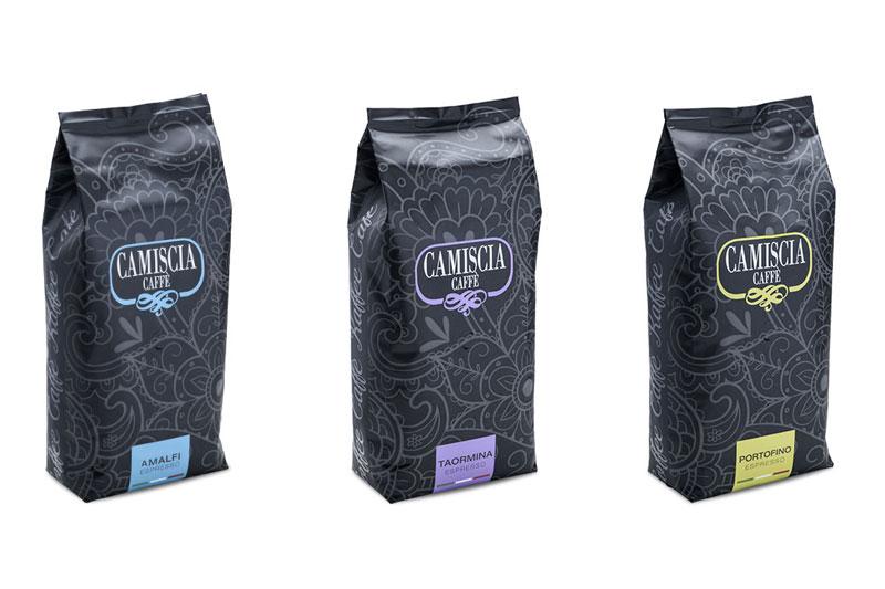 Nasce la linea Camiscia, all'estero il gusto del caffè italiano