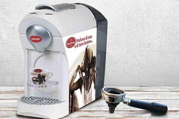 Non solo caffè, Universal lancia la nuova linea 'Ginger'