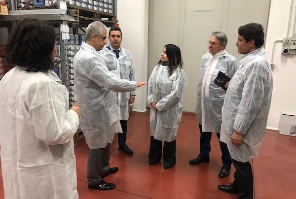 L'ambasciatore del Regno di Giordania visita la sede di Universal Caffè