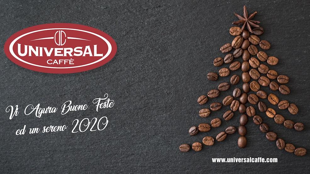 Universal Caffè vi augura buone feste ed un sereno 2020!