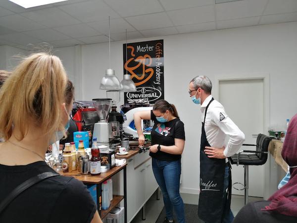 La formazione di Universal Caffè sbarca all'estero, inaugurata accademia in Germania