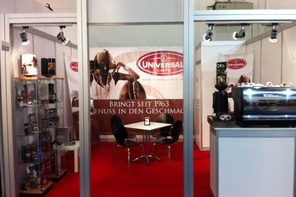 Grande successo di Universal Caffè alla fiera Internorga 2012