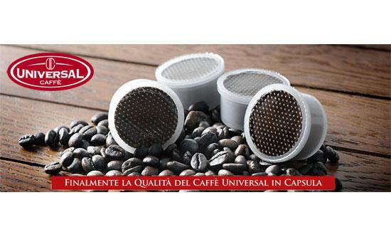 Finalmente la qualità Universal in capsule, scopri la novità!