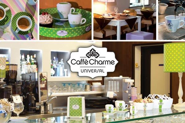 """Presentato al Sigep 2015 """"Caffe' Charme"""", una filosofia inedita rivoluziona il mondo dei bar"""