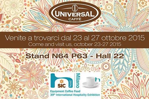 Fiere: Universal al Salone Internazionale del Caffe', ecco le novità