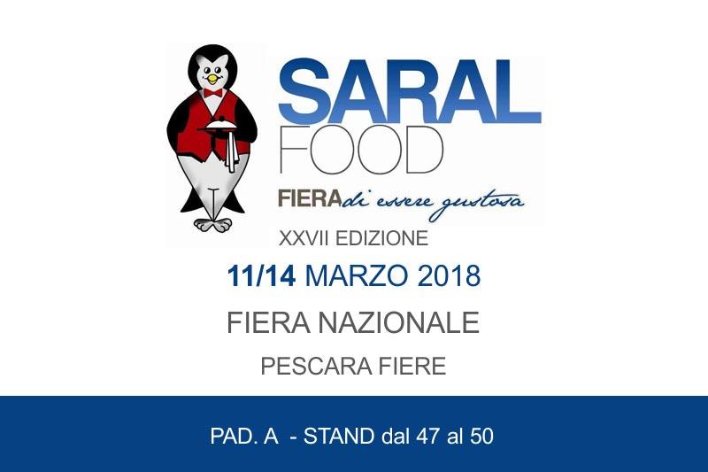 Fiere, Universal Caffe' alla 27esima edizione del Saral Food dall'11 al 14 marzo