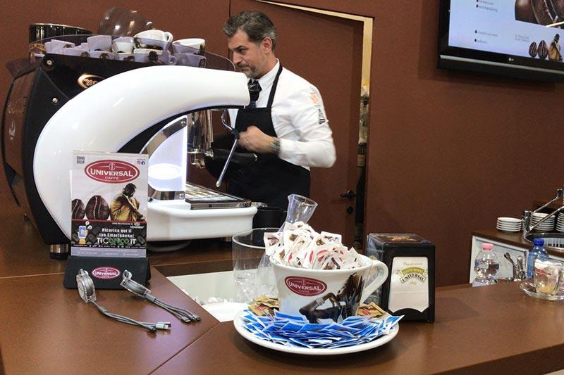 Il gusto di Universal Caffe' protagonista alla 27esima edizione del Saral Food
